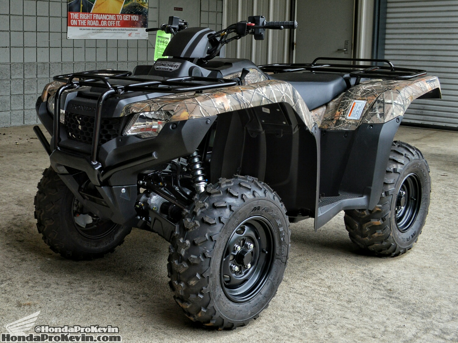 2016 Honda Rancher 420 ATV Review / Specs   4x4 Four Wheeler TRX420