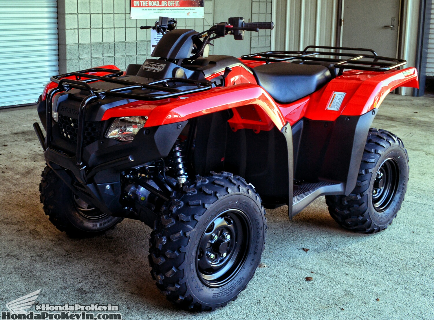 2019 Honda Rancher 420 ATV Ride Review / Specs - 4x4 Four Wheeler TRX420