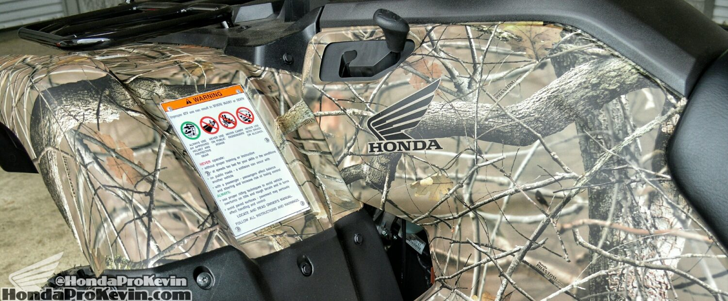 Honda Rancher 420 Camo ATV Review / Specs - Four Wheeler 4x4 Quad