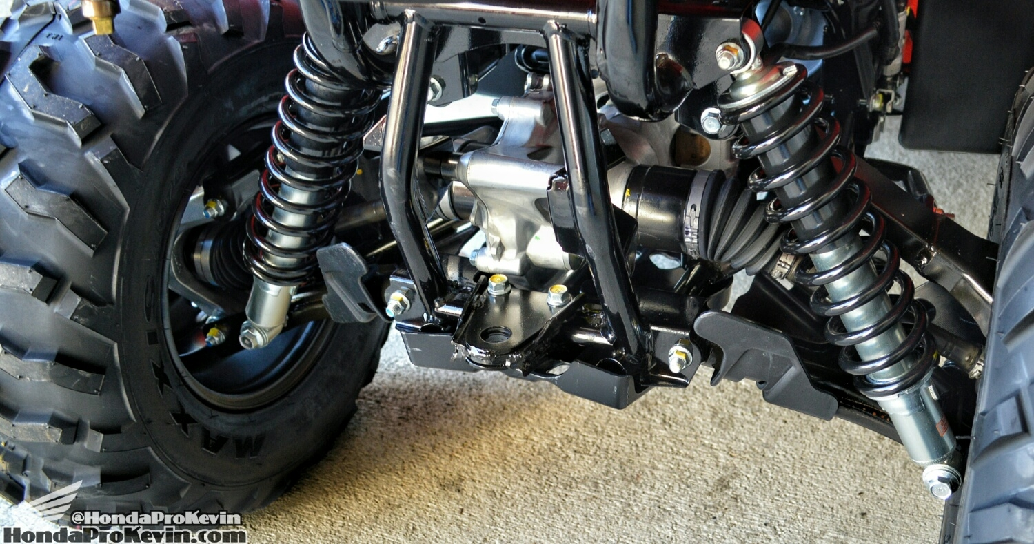 2016 Rancher 420 IRS ATV Review - Independent Rear Suspension