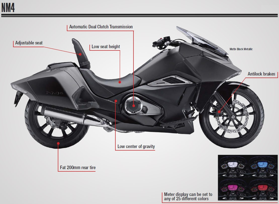 honda nm4 review specs motorcycle dct abs automatic cruiser touring 700 nc700jd _backup index of pictures 2016 motorcycle specs brochures 2016 Honda NM4 Carrier Rack at bakdesigns.co