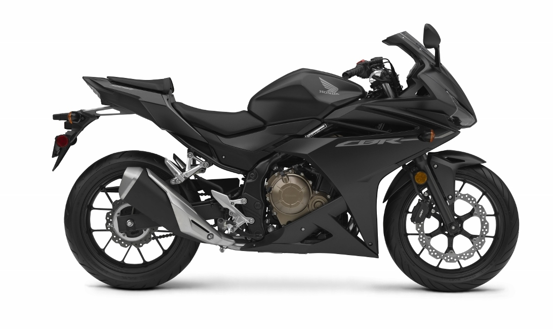 Black honda sports bikes