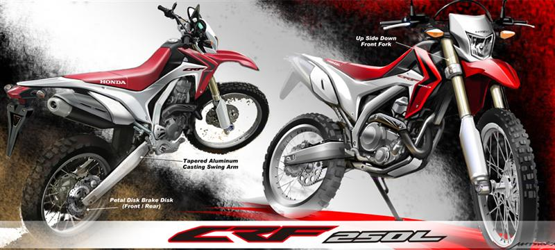 2018 honda 250l. fine 250l flash forward 40 years and honda introduces our newest dualsport bike  with the crf250l the generation that became part of motorcycling in 70u0027s  with 2018 honda 250l y