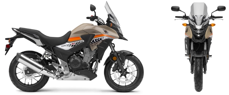 Honda CB500X Review / Specs - Adventure Bike / Motorcycle