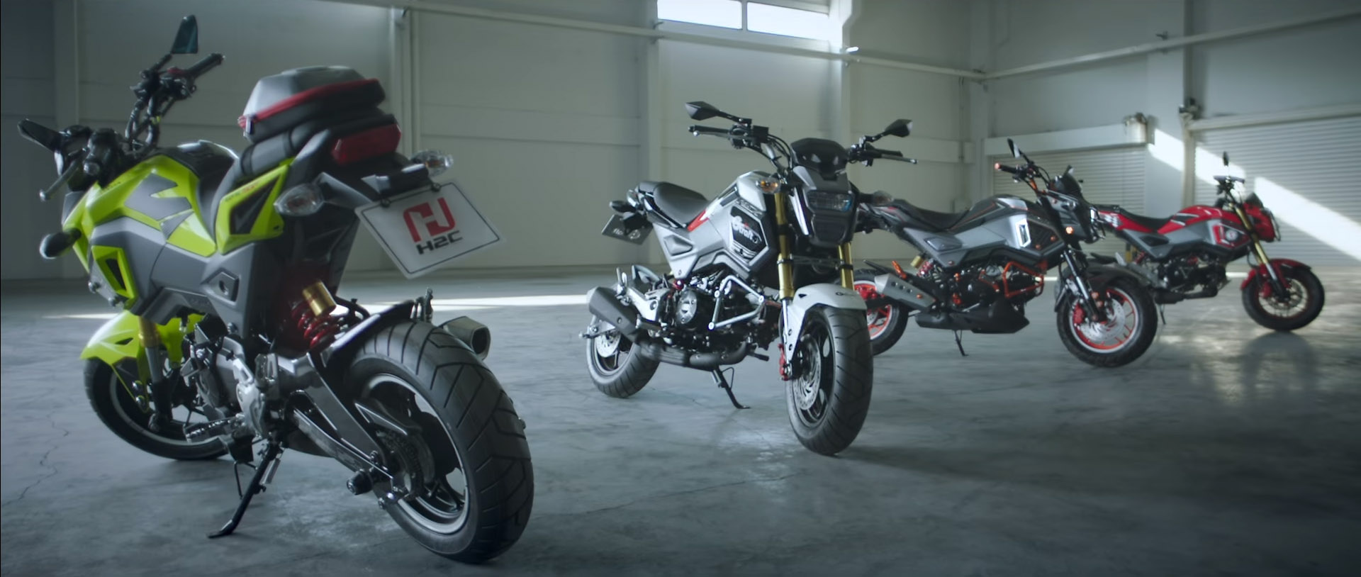 new 2017 honda grom changes announcement | motorcycle news / update
