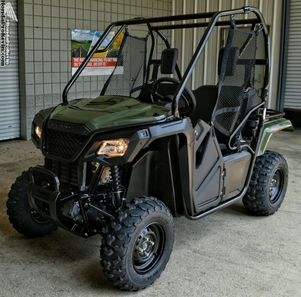 2018 Honda Pioneer 500 Review / Specs - Side by Side ATV - UTV