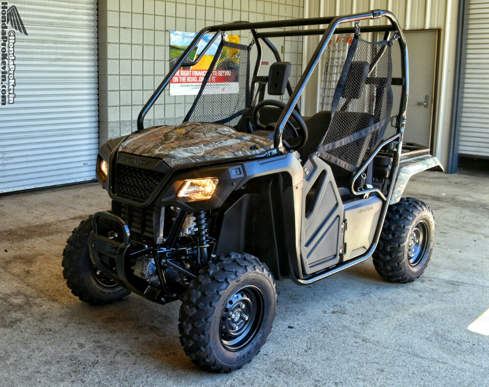 2017 Honda Pioneer 500 Camo Review / Specs / Prices / Horsepower & Torque + More!