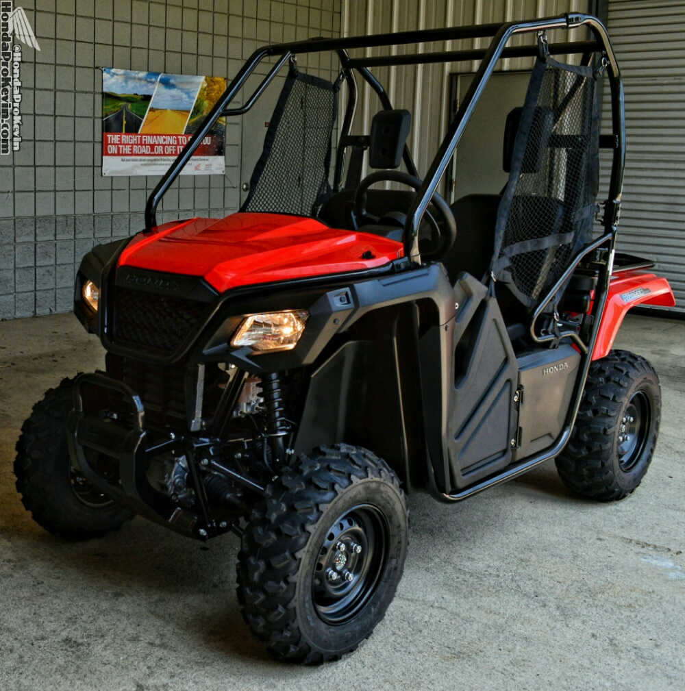 2017 Honda Pioneer 500 / SxS - Side by Side ATV - UTV