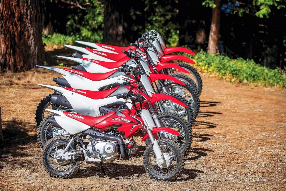 2019 Honda CRF DIrt Bikes / Motorcycles - Model Lineup Review