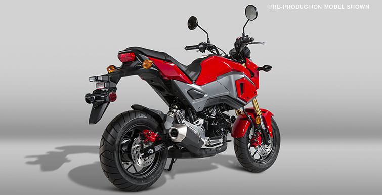 Detailed 2017 Honda Grom 125 Review of Specs & Changes - Announcement ...