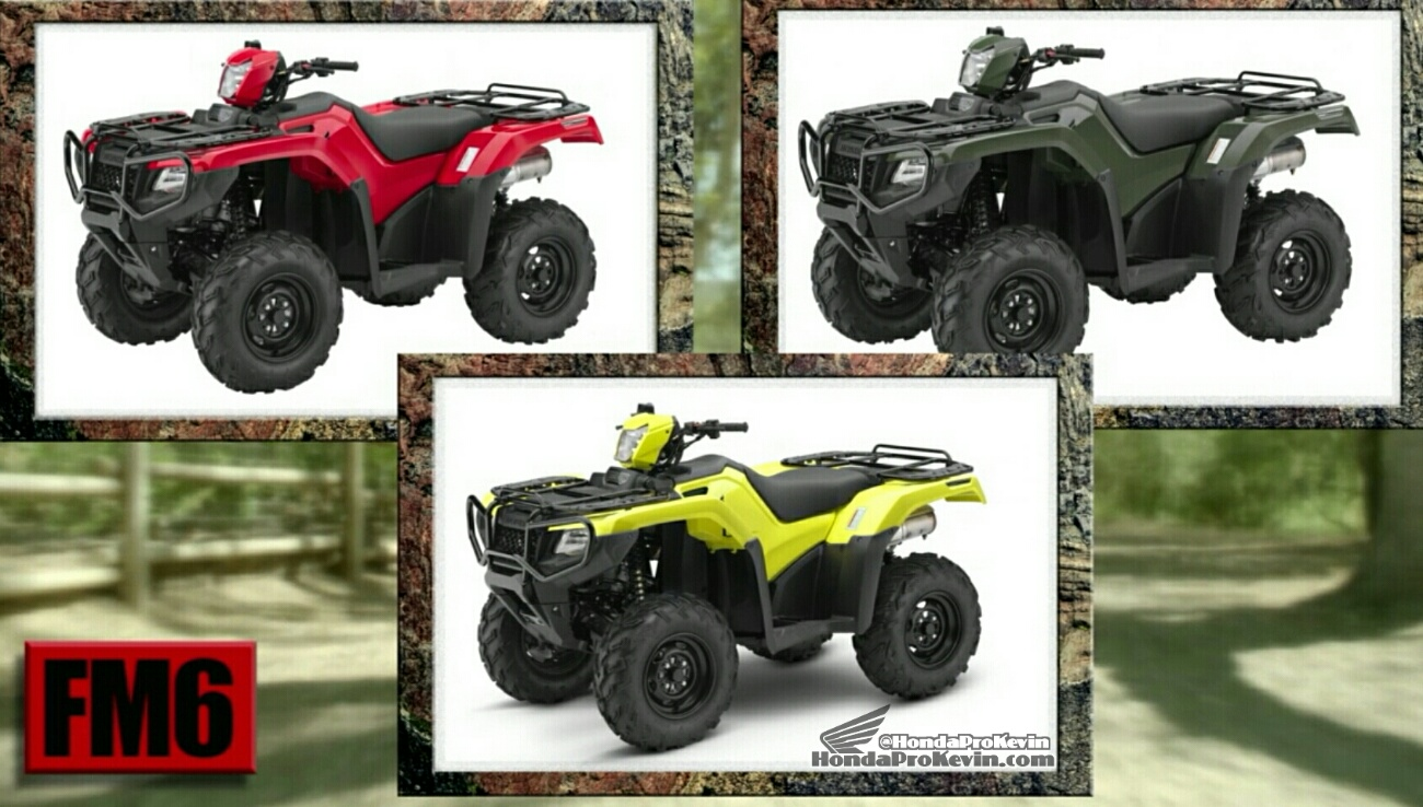 2017 Honda Atv Model Lineup Prices 2017 Vs 2016