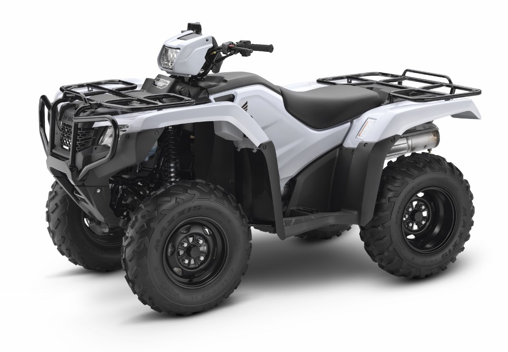 2017 Honda Foreman 500 ATV Review / Specs - TRX500FM1 4x4 FourTrax Four Wheeler - Manual Shift