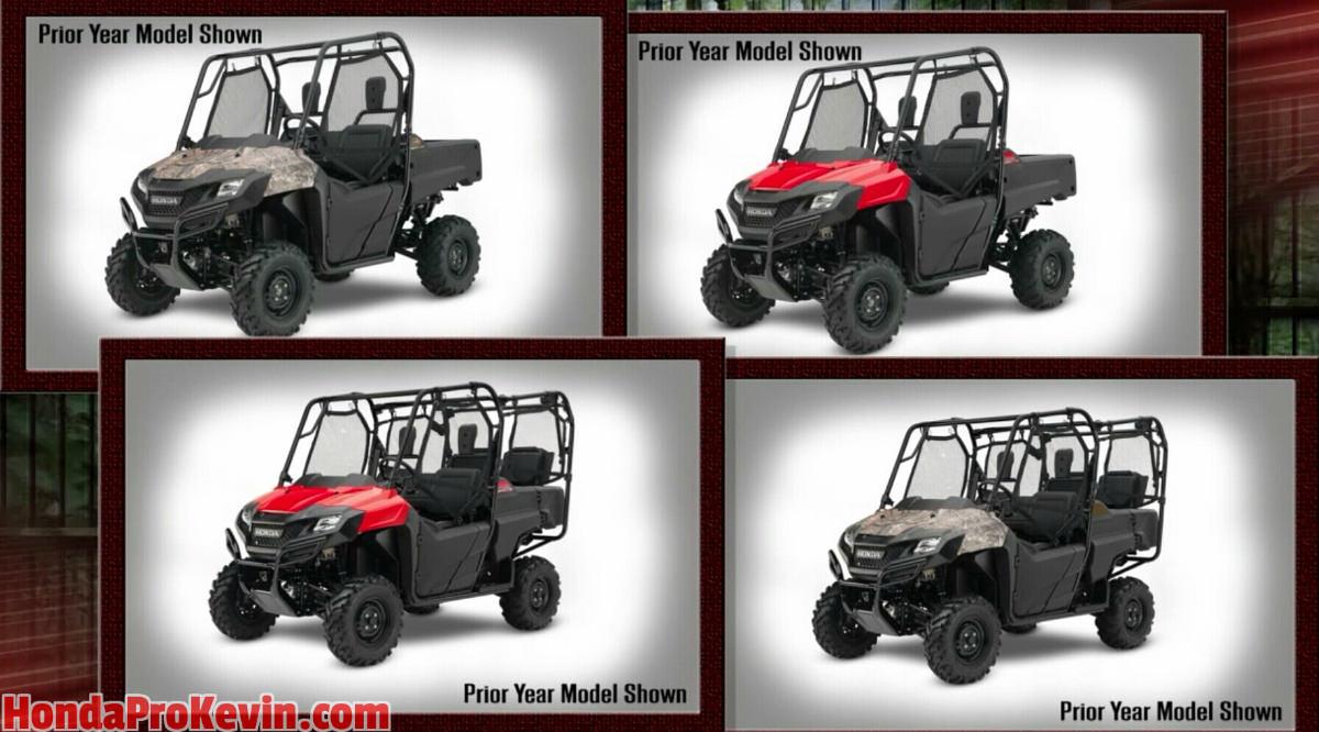2017 Honda Pioneer 700 & 700-4 Specs - Side by Side ATV / UTV / SxS / Utility Vehicle