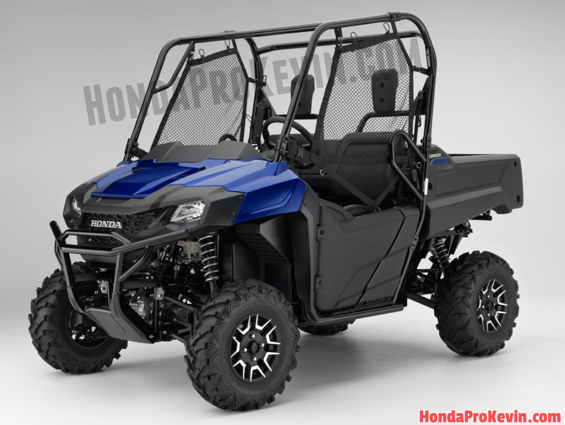 2017 Honda Pioneer 700 Deluxe Review / Specs & Changes - HP & TQ, Price, Colors - Side by Side ATV / UTV / SxS / Utility Vehicle 4x4 - SXS700 / SXS700M2