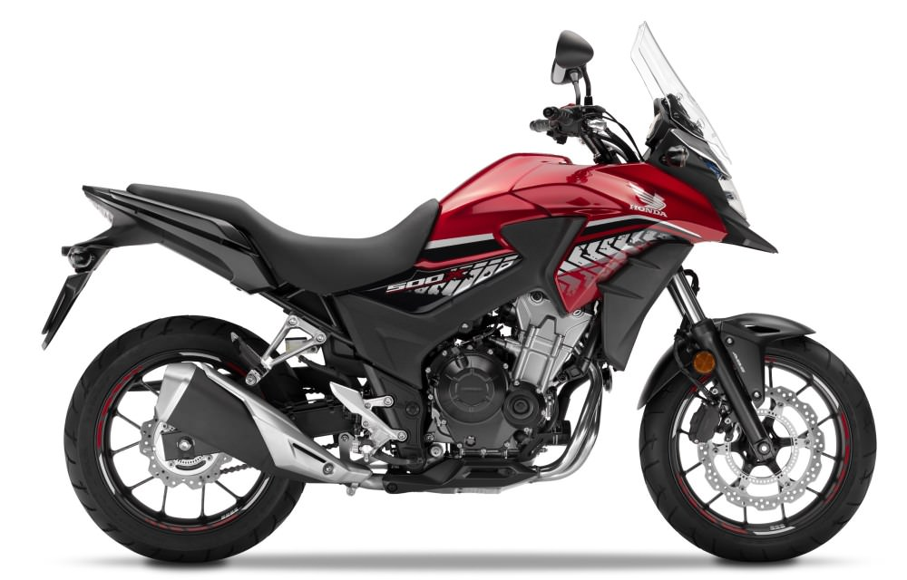 2017 Honda CB500X Review / Specs - Adventure Motorcycle / Touring Bike - CB 500 X