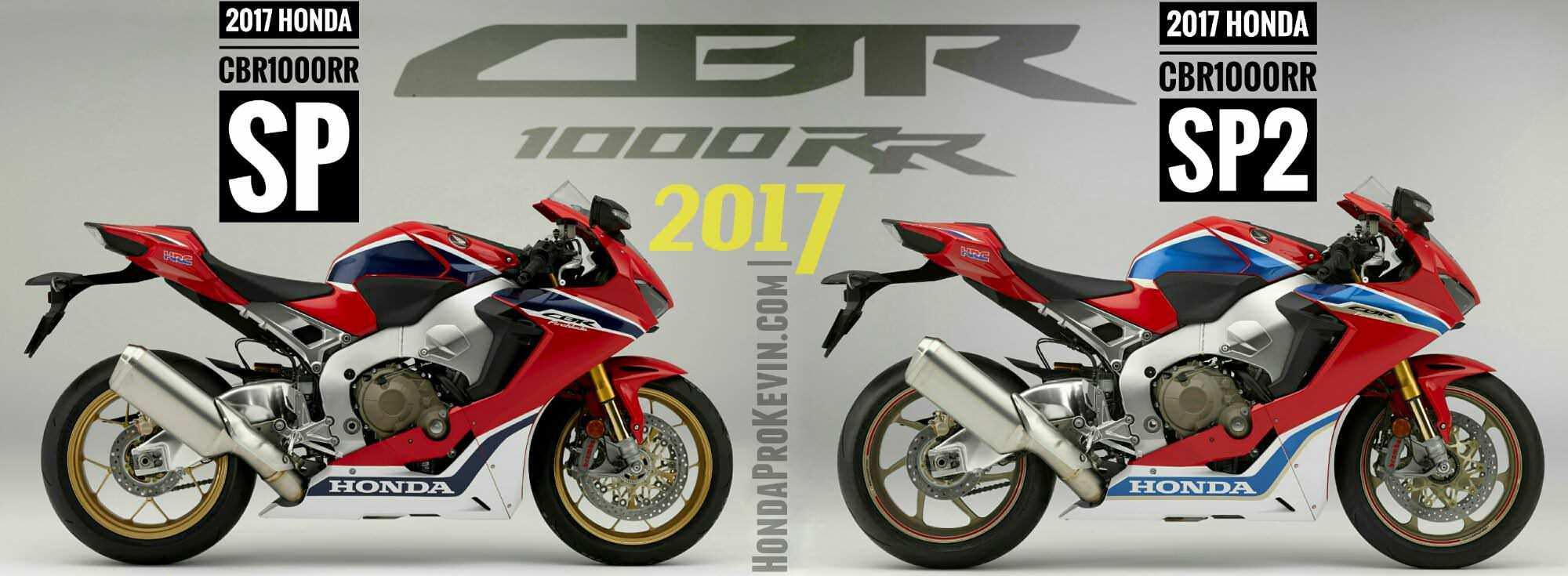 2017 CBR1000RR SP VS SP2 Comparison Review / Differences - CBR 1000 RR Sport Bike / Motorcycle Review & Specs