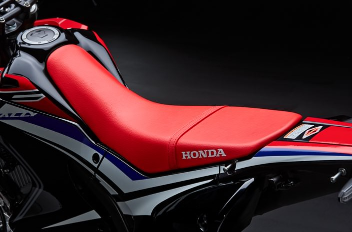 2018 honda 250l. brilliant 250l prolink rear suspension features a 265mm axle stroke 25mm more than the  crf250l plus leverage ratio revised for ride comfort the showa shock absorber  for 2018 honda 250l