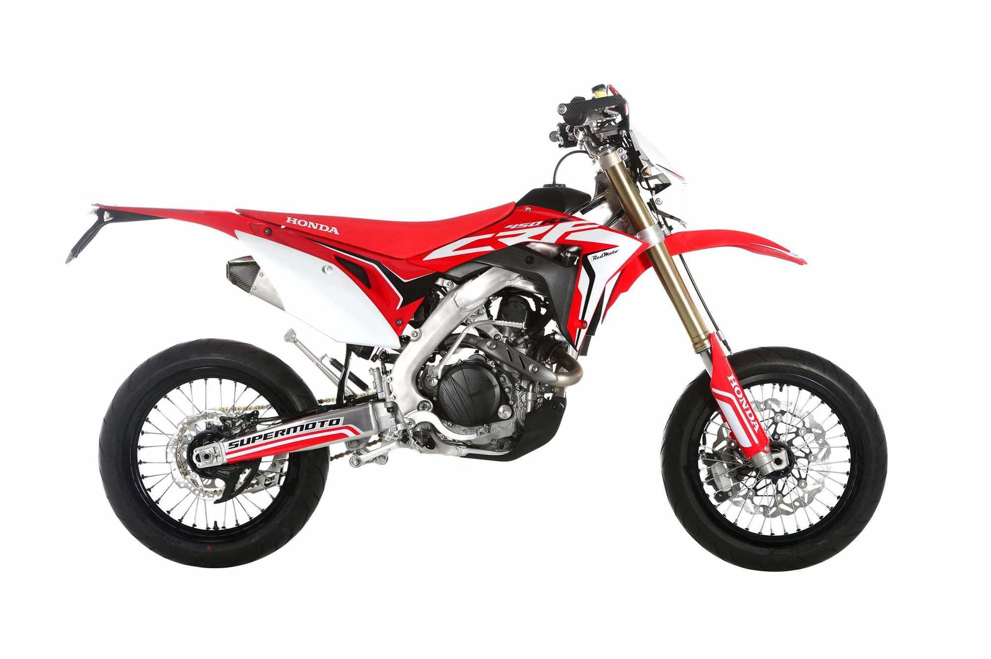 street legal 2017 honda crf450r supermoto bike that you can buy. Black Bedroom Furniture Sets. Home Design Ideas