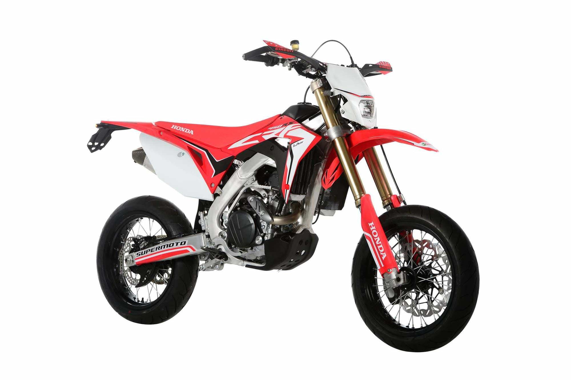 Street Legal 2017 Honda Crf450r Supermoto Bike That You