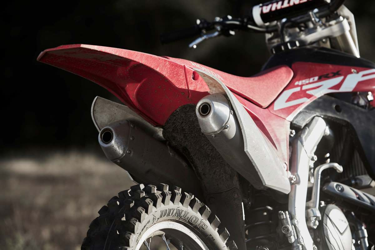 2018 CRF450RX Specifications