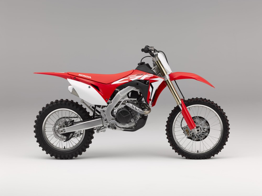 2017 Honda CRF450RX Review / Specs - Engine, Frame & Suspension Info