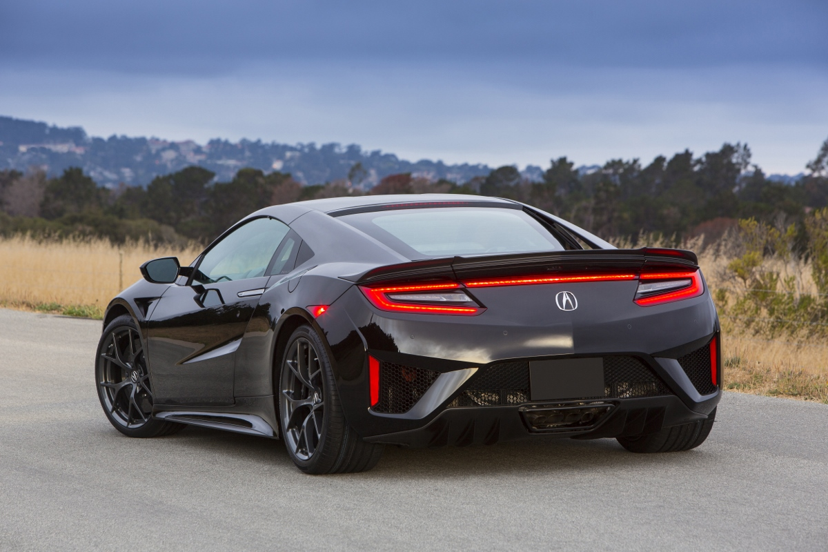 2017 Acura Nsx Honda Sports Super Cars Race Automobile Hybrid 15 Jpg