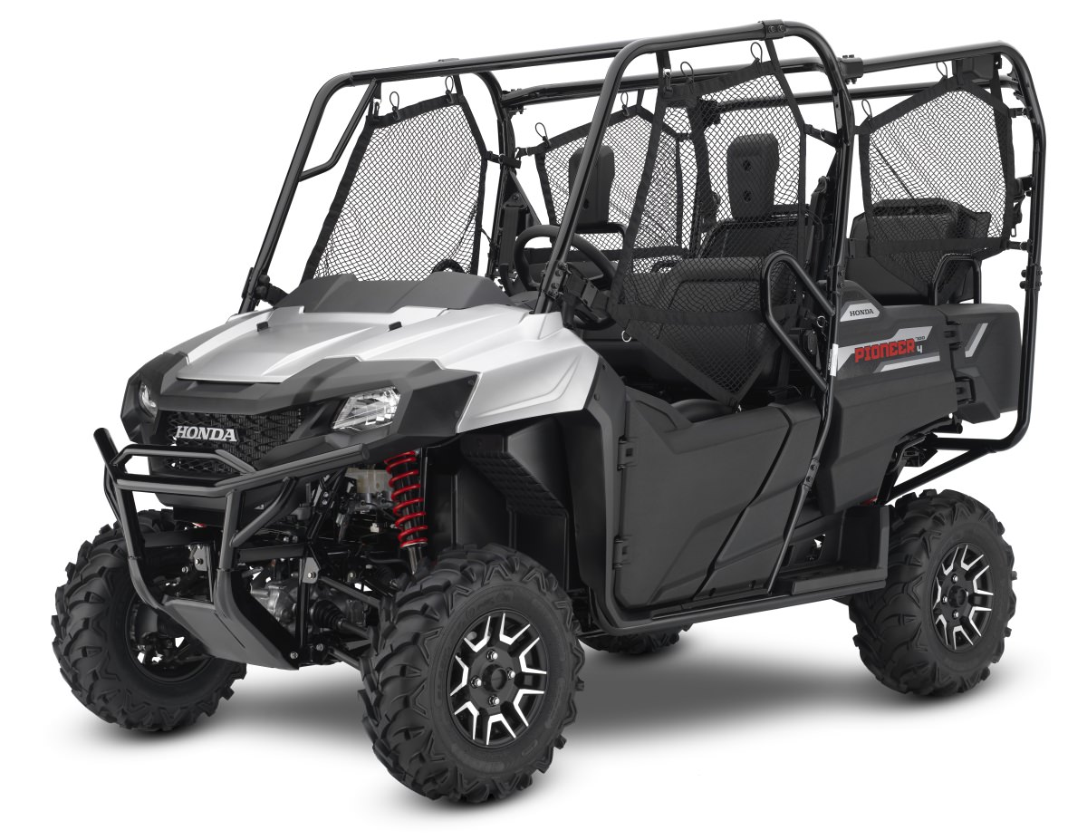 2017 Honda Pioneer 700 4 Deluxe Review Specs Features More Wheel Horse 211 Wire Harness Side By Atv