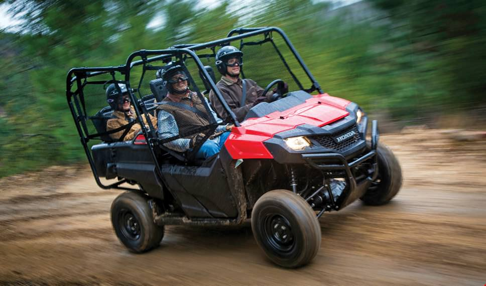 2017 Honda Pioneer 700 Accessories >> 2017 Honda Pioneer 700-4 / Deluxe Review | Specs, Features + More! | Honda-Pro Kevin