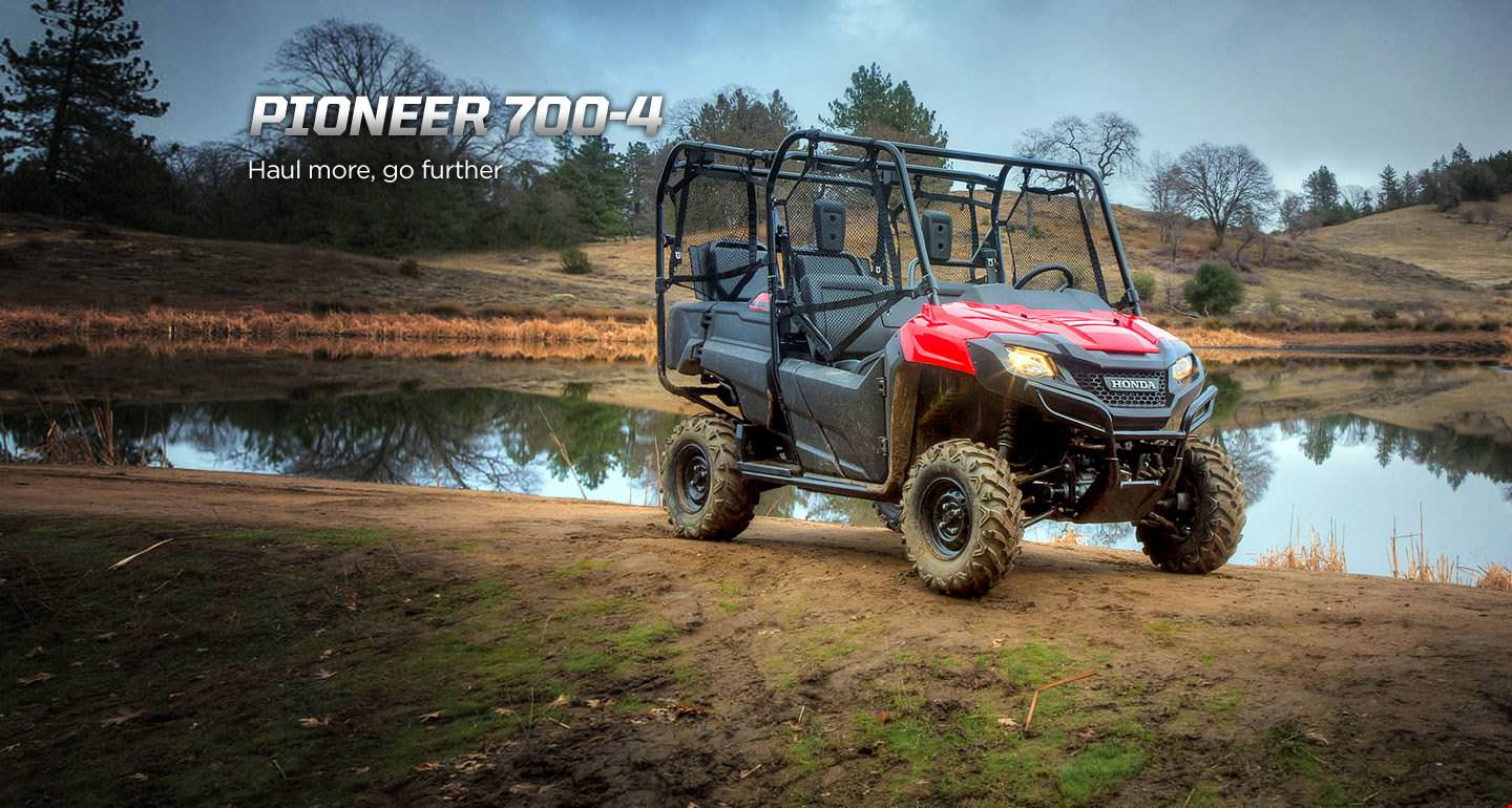 2017 Honda Pioneer 700 4 Deluxe Review Specs Features More Wheel Horse 211 Wire Harness Side By Atv Utv