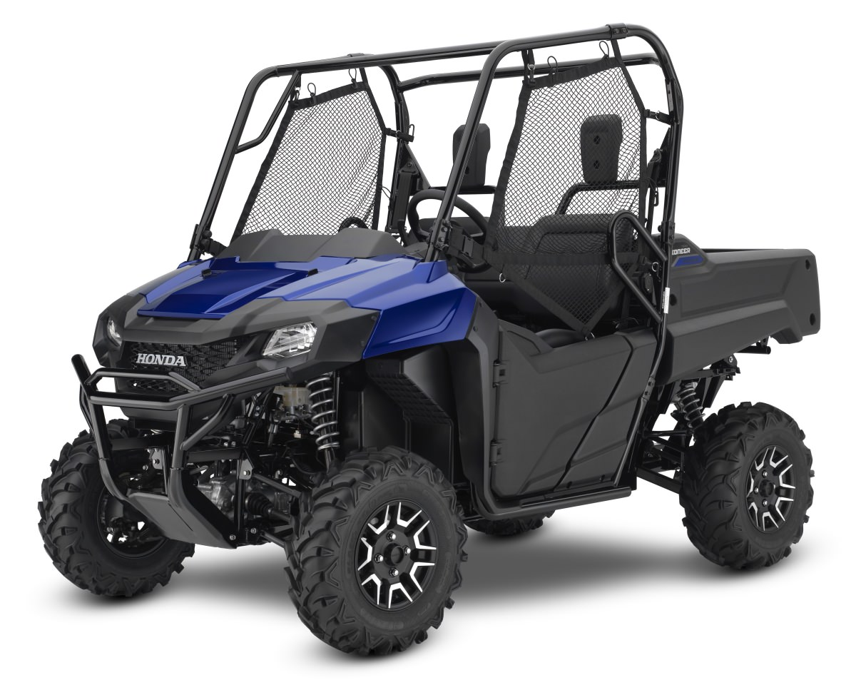 2017 Honda Pioneer 700 Deluxe Review / Specs - Side by Side ATV / UTV / SxS / Utility Vehicle