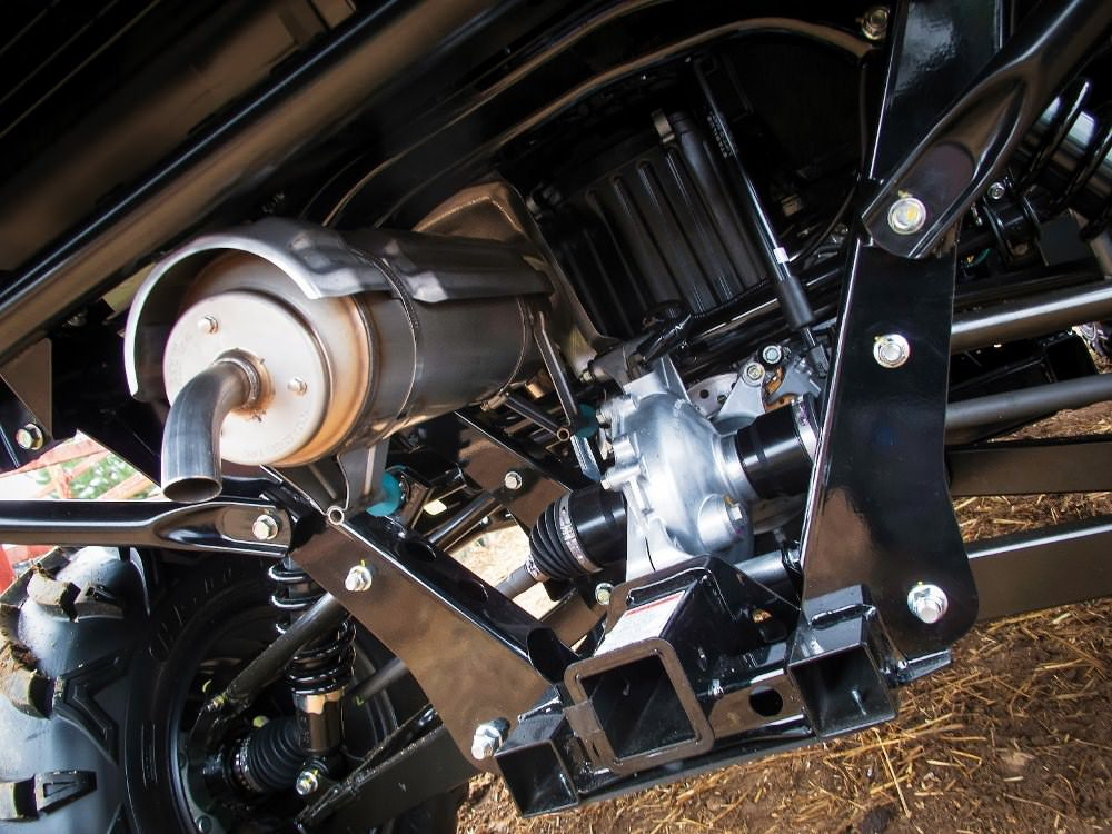 2018 Honda Pioneer 700 Engine / Transmission / Drivetrain / Exhaust Muffler