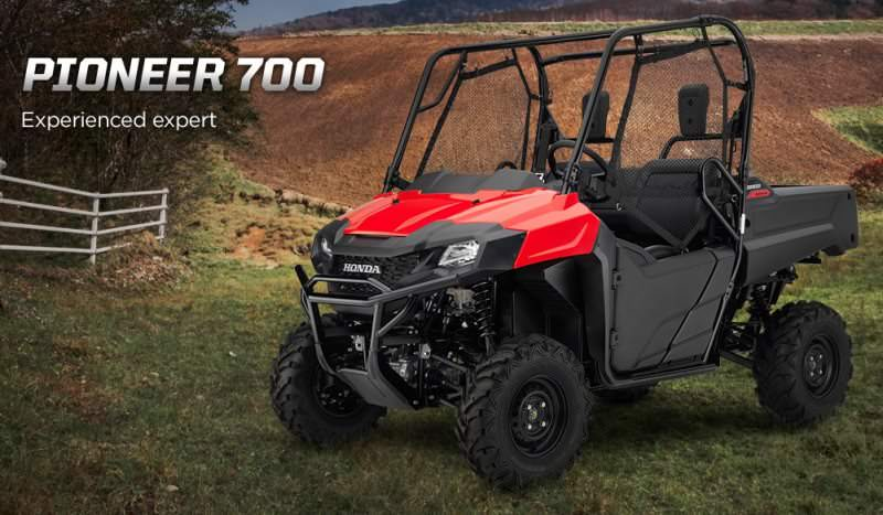 2017 Honda Pioneer 700 Review | Deluxe Model Changes & Specs, Features, Accessories + More ...