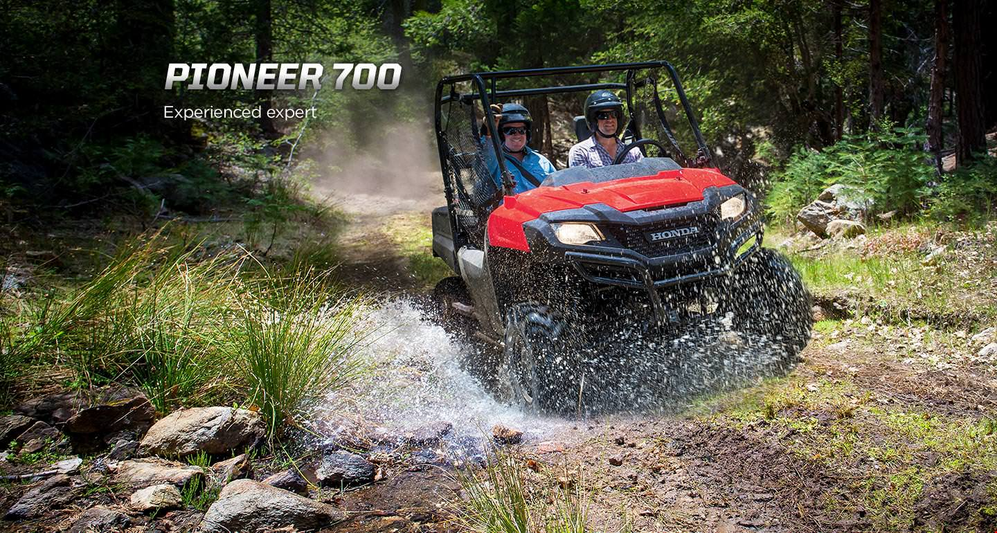 2017 Honda Pioneer 700 Review / Specs - Side by Side ATV / UTV / SxS / Utility Vehicle