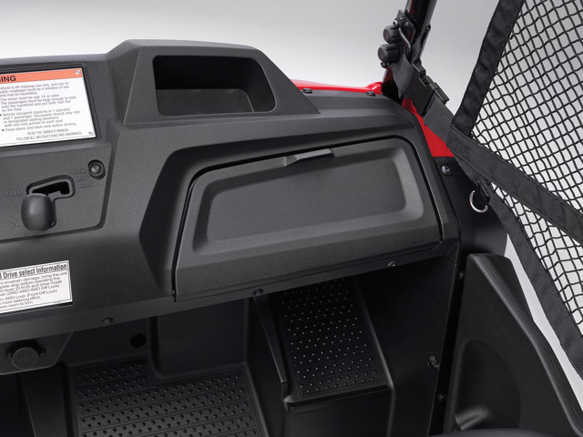 2018 Honda Pioneer 700-4 Glove Box - Review / Specs - Side by Side ATV / UTV / SxS / Utility Vehicle