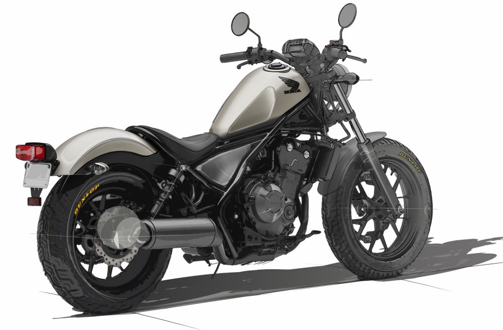 2018 Honda Rebel 500 Review / Specs - Price, MPG, Accessories
