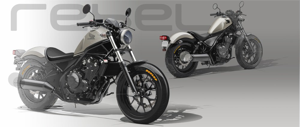 2017 Honda Rebel 300 Review / Specs - New Bobber / Cruiser Motorcycle