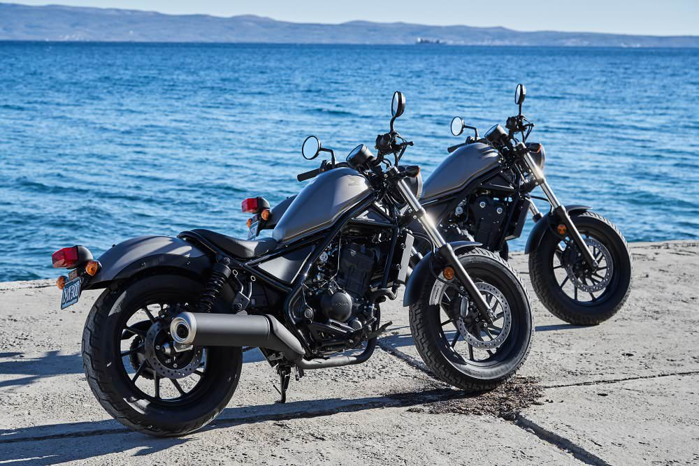 2018 Honda Rebel 500 VS 300 Comparison Review / Specs