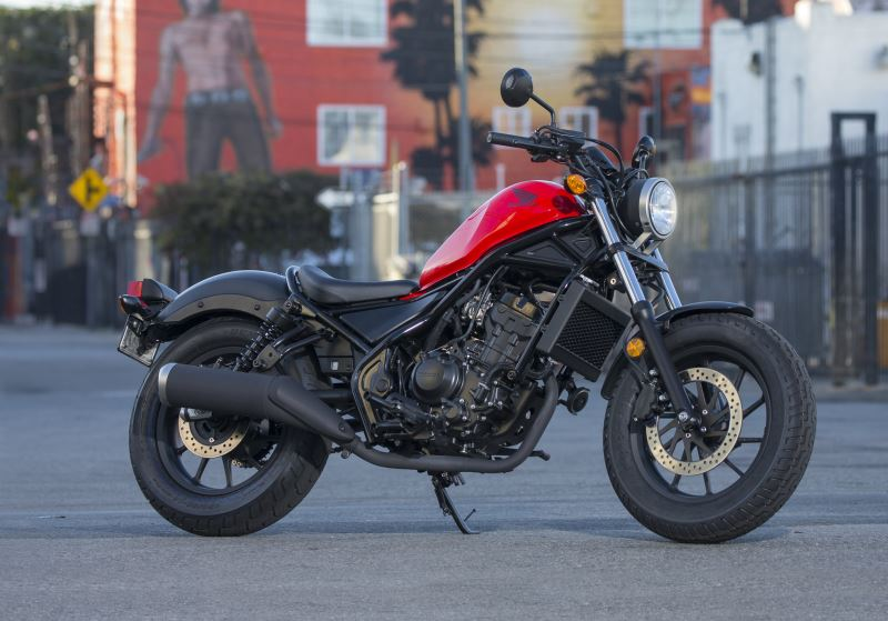 2018 Honda Rebel 300 Review / Specs - Price, Colors, MPG, Weight + More!