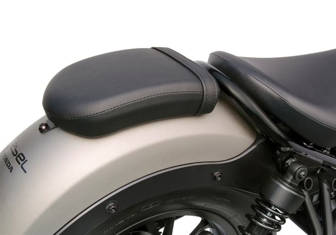 2017 Honda Rebel 300 & 500 Passenger Seat / Foot-Pegs - Accessories