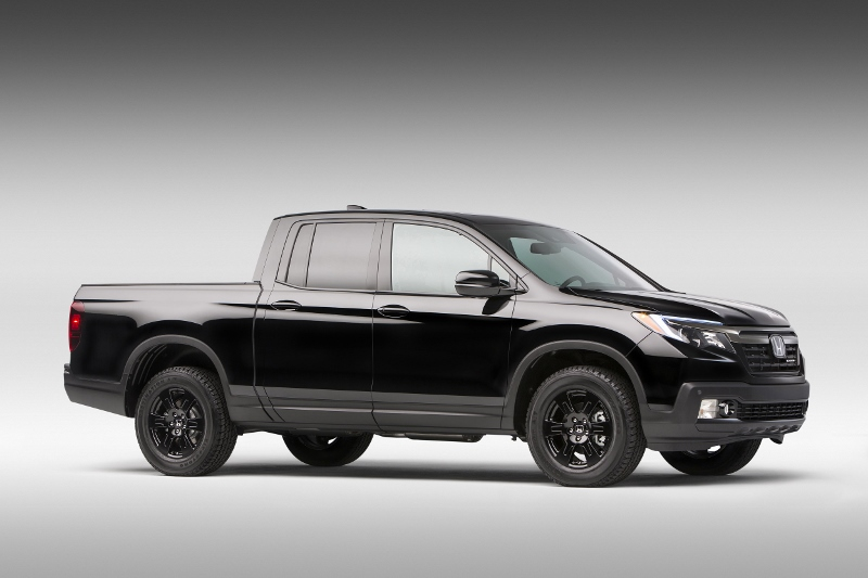 2017 Honda Ridgeline Black Edition Truck - Review / Specs / Pictures ...