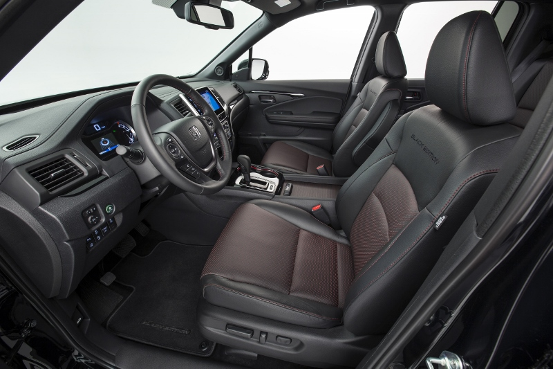 2017 Honda Ridgeline Interior Cabin Truck Review Specs Pictures Videos