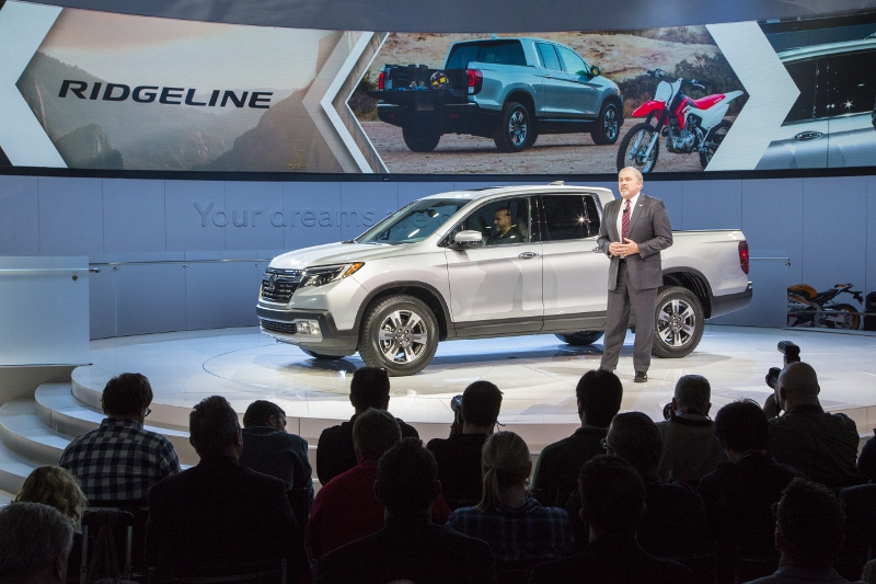 The New Ridgeline Is Based On Hondau0027s Global Light Truck Platform With Its  Rigid Yet Lightweight Unibody Construction, Next Generation ACE™ Body  Structure ...