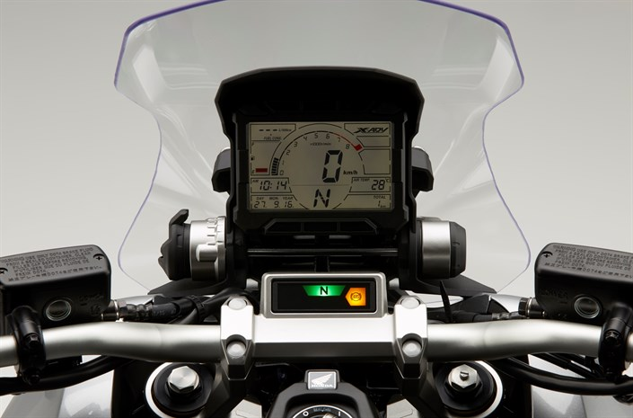 2017 Honda X-ADV Gauges / Speedometer - Review of Specs - New Adventure Automatic DCT Motorcycle / Scooter