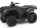 2018 Honda Rancher 420 2x4 ATV Review of Specs - TRX420TM1J Olive Green