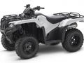 2018 Honda Rancher DCT EPS 420 4x4 ATV Review of Specs - TRX420FA2J White