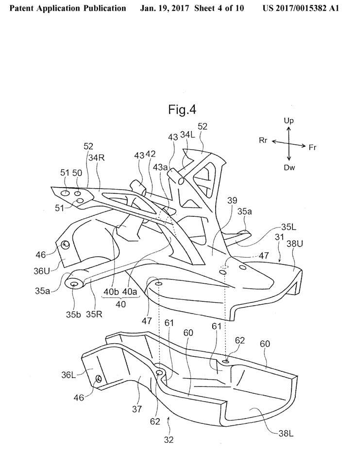 New 2018 Honda Cbr600rr Changes On The Way Cbr Patent Documents