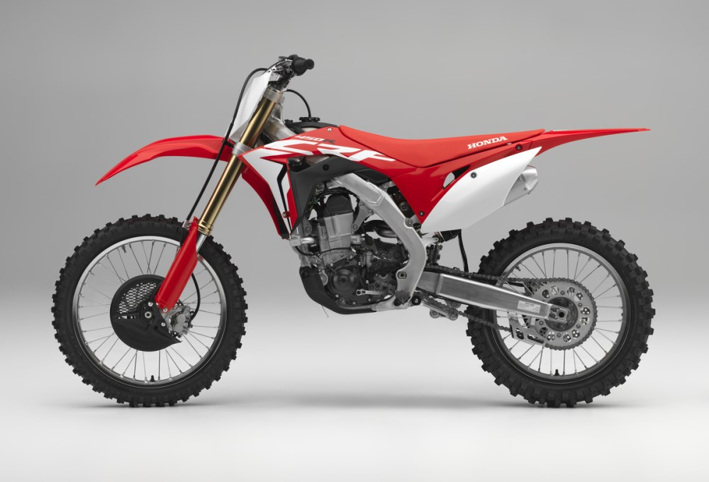 2018 Honda CRF450R Review / Specs - Changes, Price, HP - CRF 450 Motocross Dirt / Race Bike