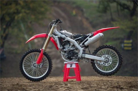 NEW 2018 Honda CRF250R Review of Specs & Changes + R&D Development Info!