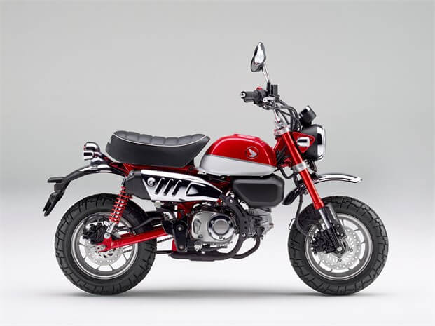 2019 Honda Monkey Review of Specs & Features | Motorcycle / Mini Bike - 49cc (50cc)