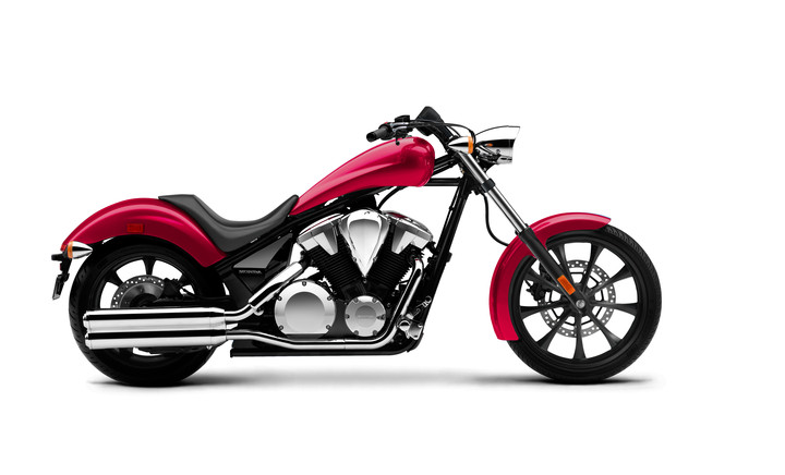 2018 Honda Fury 1300 ABS Review / Specs - Chopper Motorcycle - Chromosphere Red